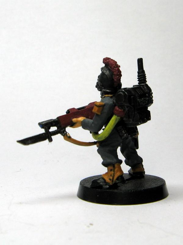 Necromunadan Grenadier - Rear